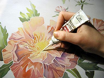 батик рисунки: