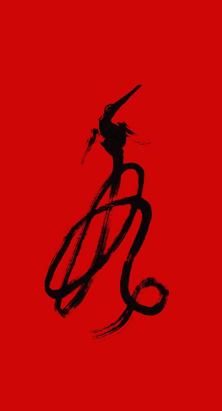 Китайский иероглиф ФЭЙ (fei).<br />Значения: летать, носиться в воздухе, летучий, летающий, стремительный, быстрый.