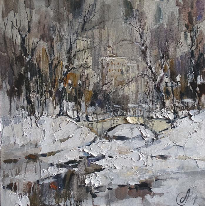 Теплая зима голицинские пруды