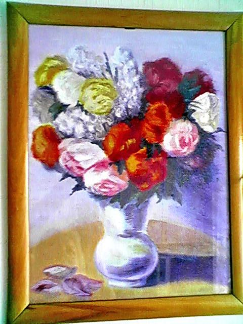 Ваза с цветами кликните по