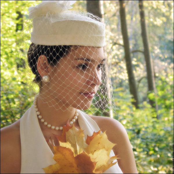 Свадебные шляпки и вуали шляпки с вуалью своими руками.