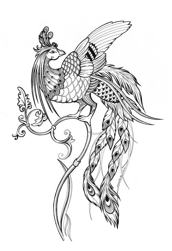Жар-птица (Элла Макина) - ИЕРОГЛИФ: http://hiero.ru/2203401