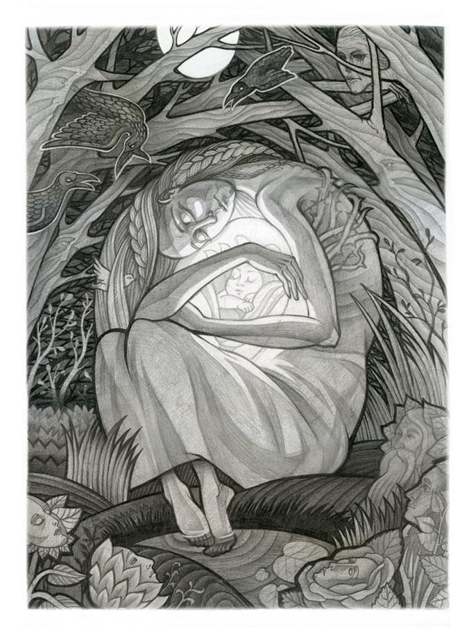 Картинки по запросу история одной матери андерсен