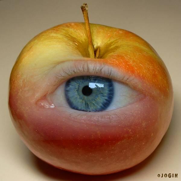 Обнимают, губы алы - Око чувствует экстаз.  Зреет яблоко глазное, Поцелуй в зрачок. привык.